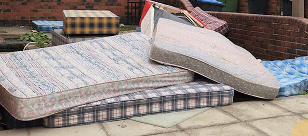 Image of used mattresses in Phoenix
