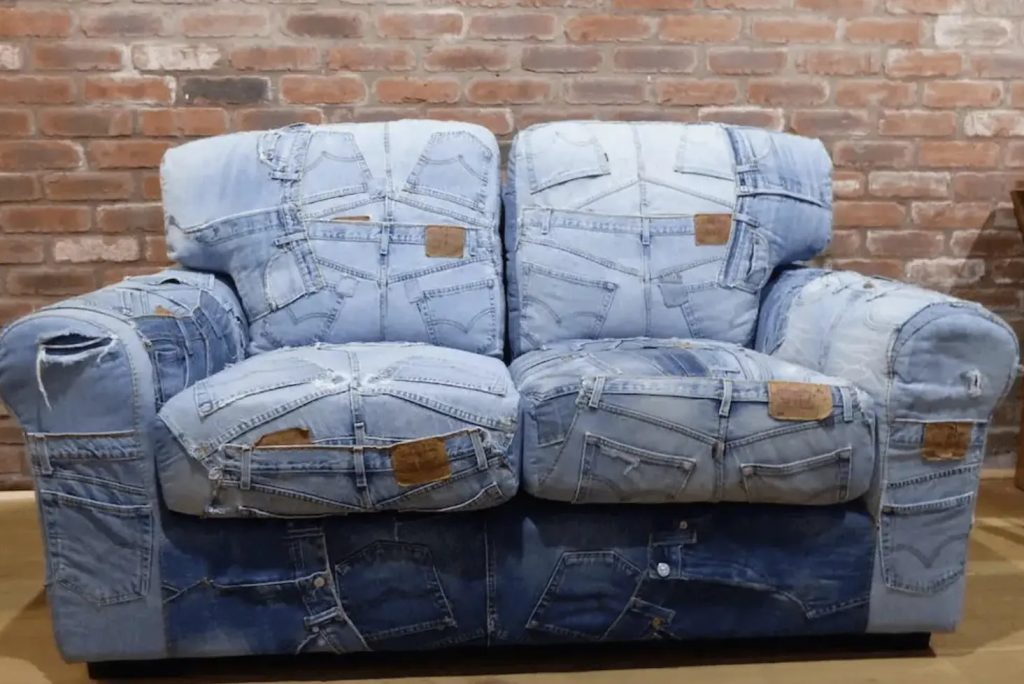 Couch Removal vs Upcycle